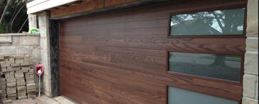 Modern Steel Garage Door Collection